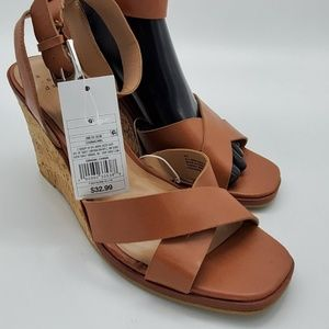 A New Day wedge heel Mel Cork Wedges Size 9.5